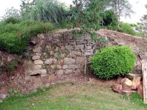 Ruines d'un four de potier