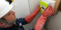 ERDF installe le nouveau compteur Linky sur Pabu