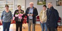 Francis Merrien reçoit la médaille d'honneur de la commune