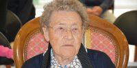 La municipalité honore sa nouvelle centenaire
