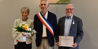 Médaille d'honneur régionale, départementale et communale à Jean-Claude Henry
