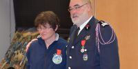 Nadia Georges chevalier de la Légion d'honneur