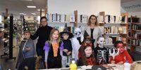La médiathèque fête Halloween