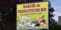 Ouverture d'un marché bio le vendredi